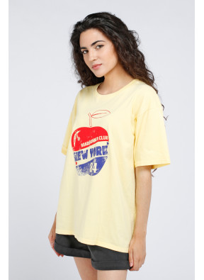 Tee-Shirt Apple Yellow