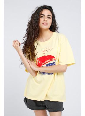 Camiseta Apple Yellow