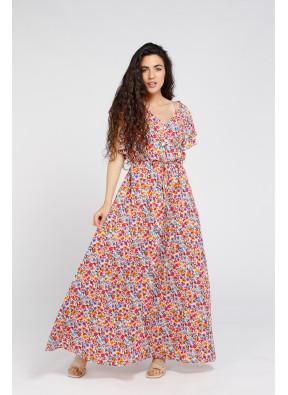 Dress Laura Long White