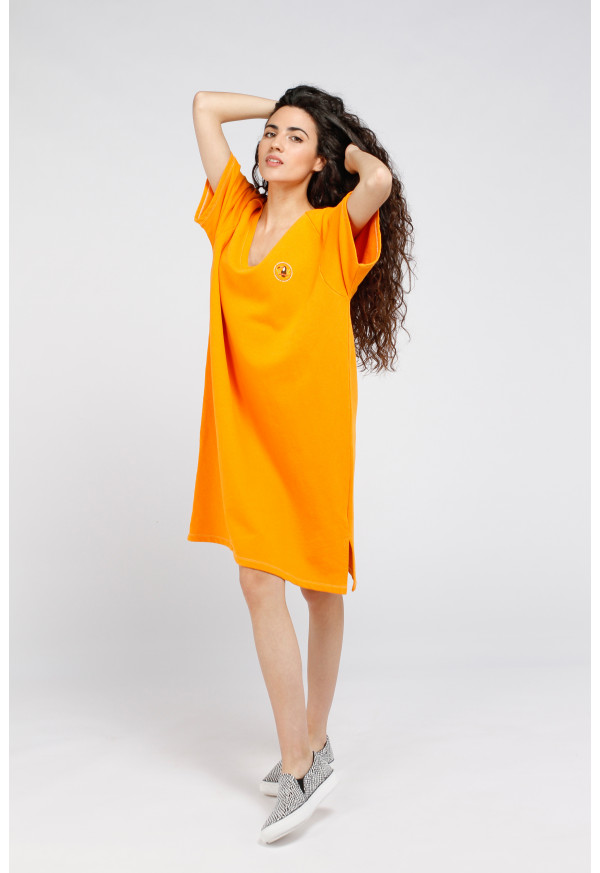 Vestido Ekowood Nectarine