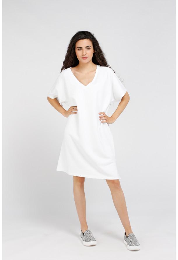 Vestido Ekowood Blanc