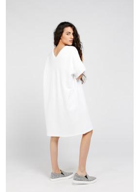 Dress Ekowood Blanc