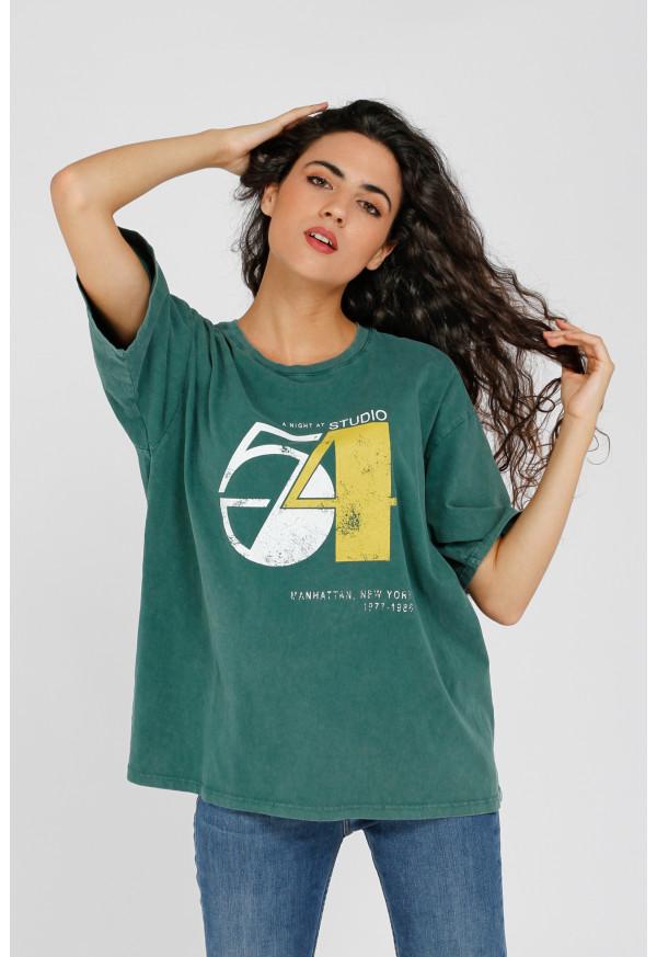 T-shirt Studio 54 Duck