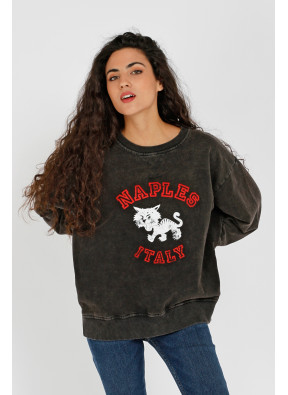 Sweatshirt Naples Black