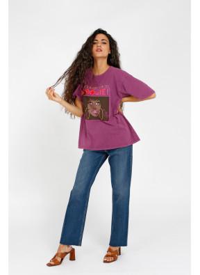 T-shirt Boogie Purple