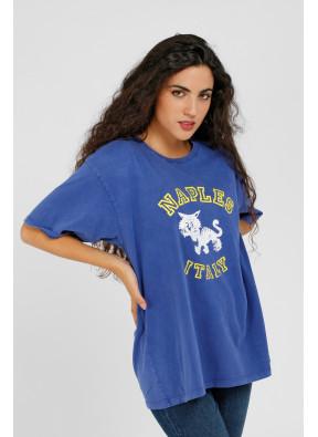 T-shirt Naples Royal