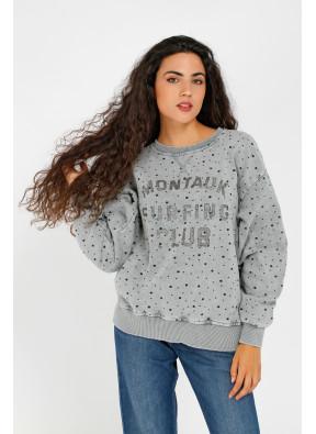 Sweatshirt Montauk Grey