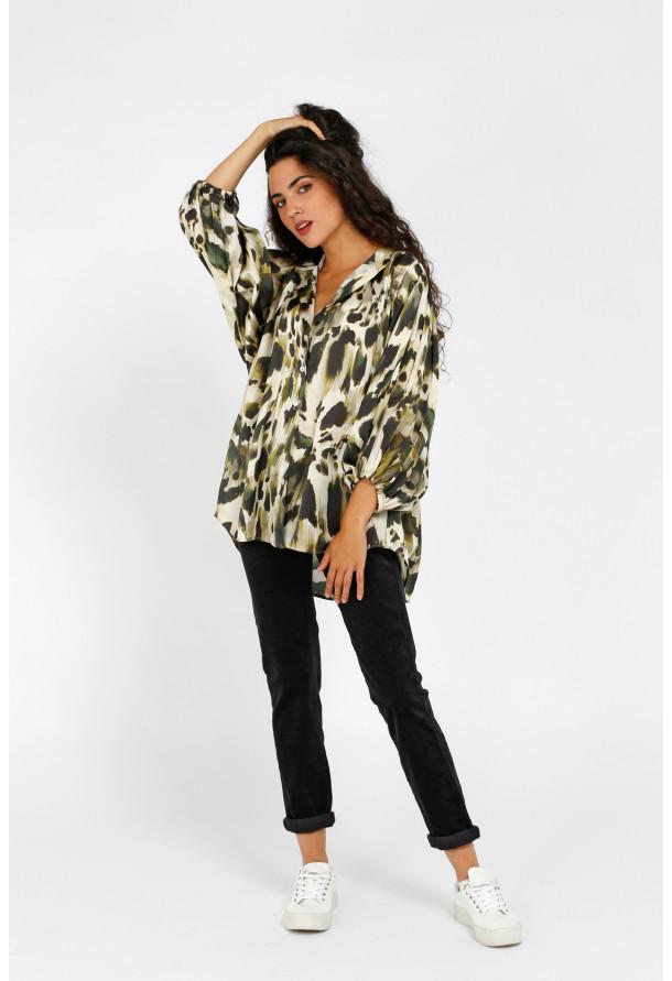 Shirt W21F1002 Kakhi