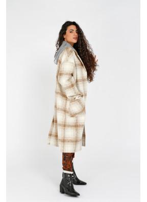 Coat W21N1035B Camel