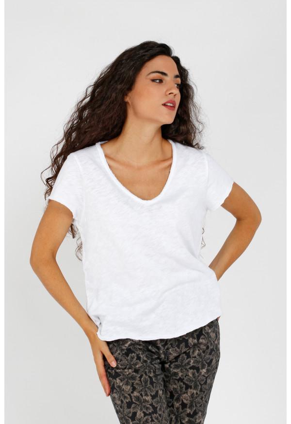 Camiseta Sonoma 02AG Blanc