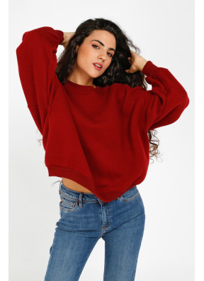 Sweatshirt Ikatown 03C Berry