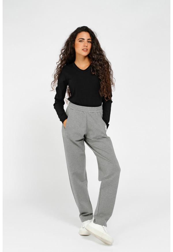 Pantalon W21T674 Grey mel.