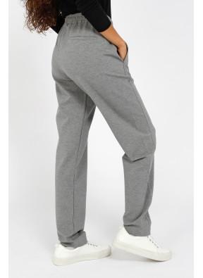 Trouser W21T674 Grey mel.