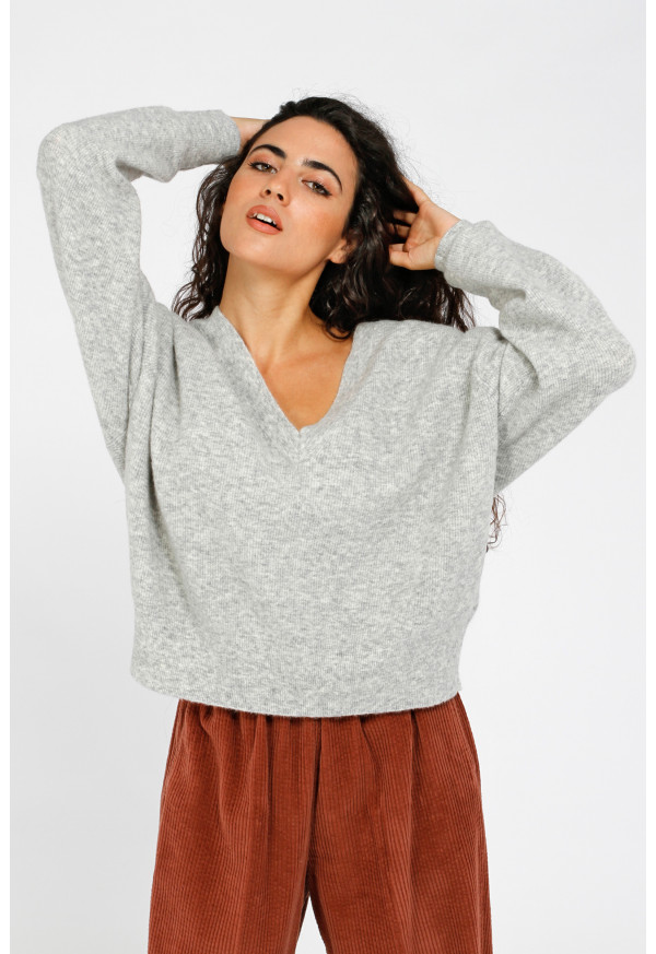 Pull Noxon 18A Gris Chine