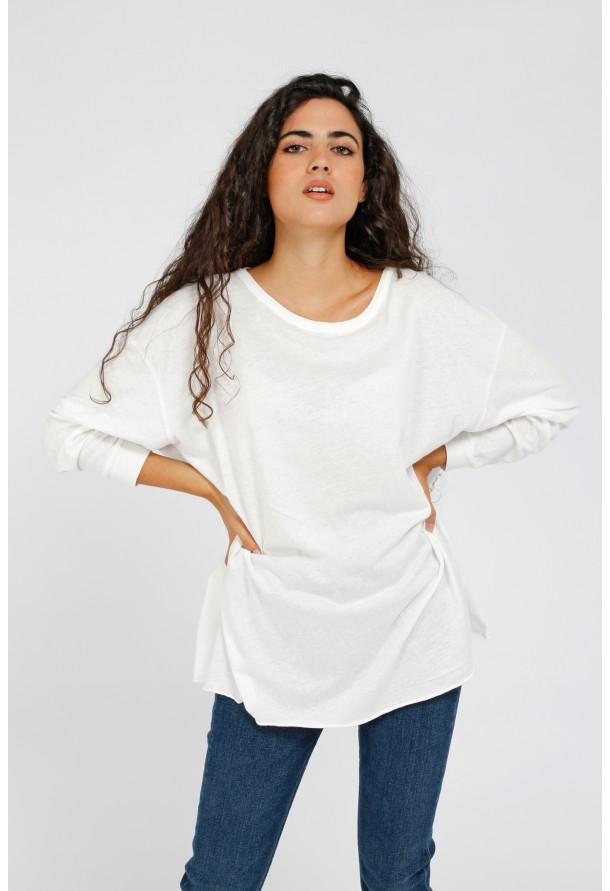T-shirt Aksun Blanc