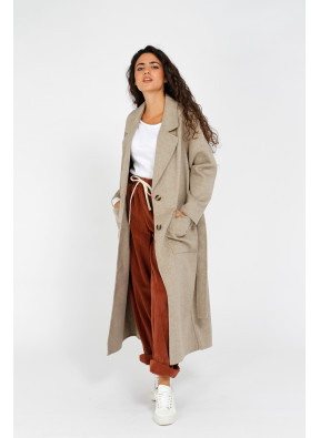 Coat Dadoulove 17D Sesame Chine